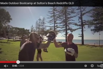 redcliffe beach bootcamp